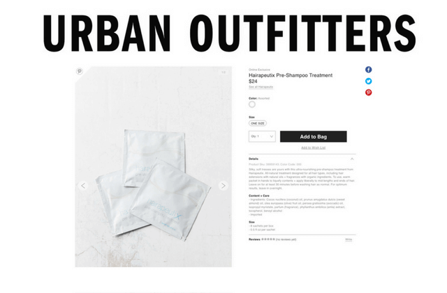 Urban Outfitters Hairapeutix